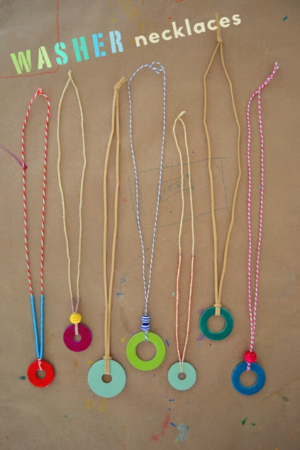 One of the easiest jewelry crafts for kids