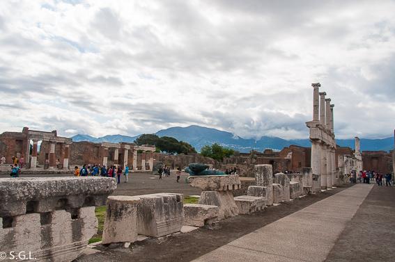 Foro de Pompeya, las ruinas de la ciudad romana