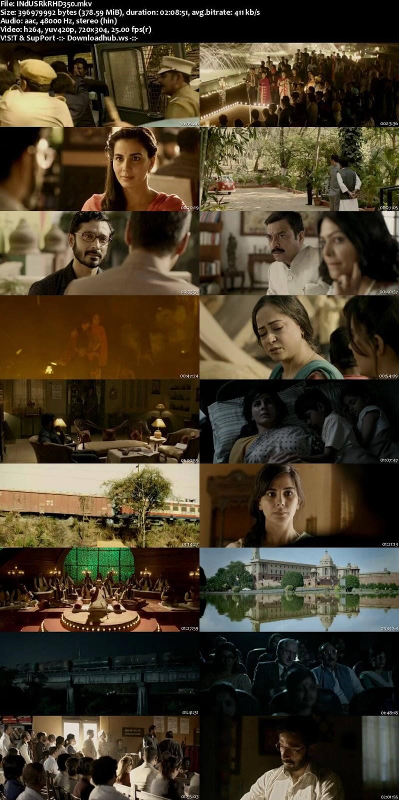 Indu Sarkar 2017 Hindi 480p HDRip