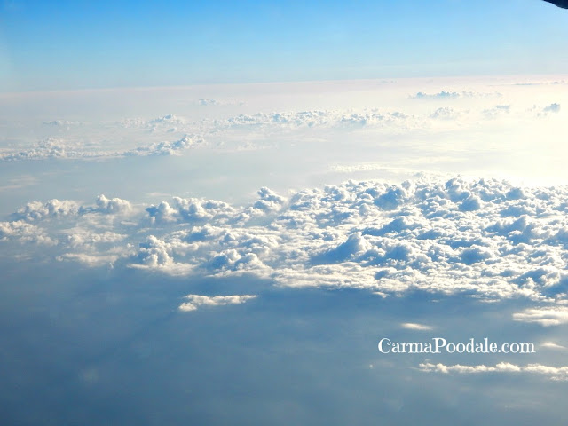 cloud view from a plane