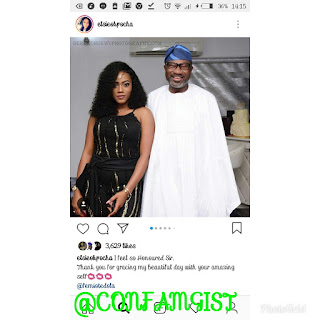 Otedola Paid Basketmouth And His Family A Visit