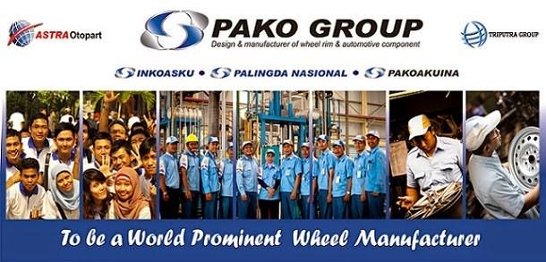 Loker Pabrik Otomotif 2018 Pako Group Karawang