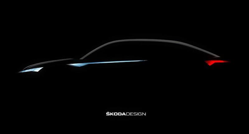 Skoda Teases Vision E Concept For Shanghai Debut