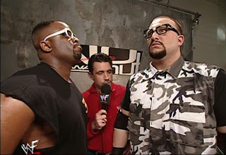 WWE / WWF No Way Out 2000 - Michael Cole interviewed The Dudley Boys