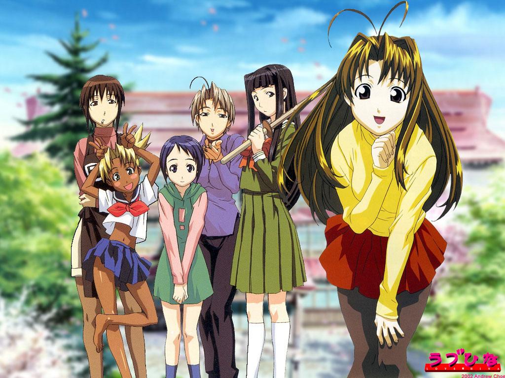 Best Anime: Love Hina