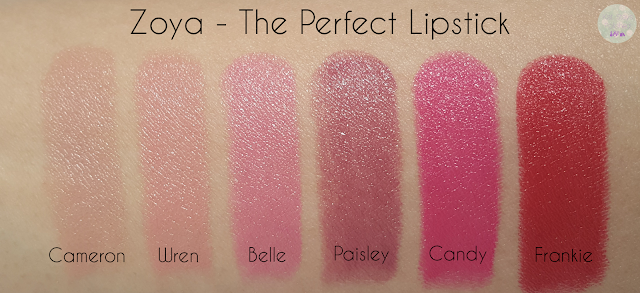 Zoya - The Perfect Lipstick | Kat Stays Polished