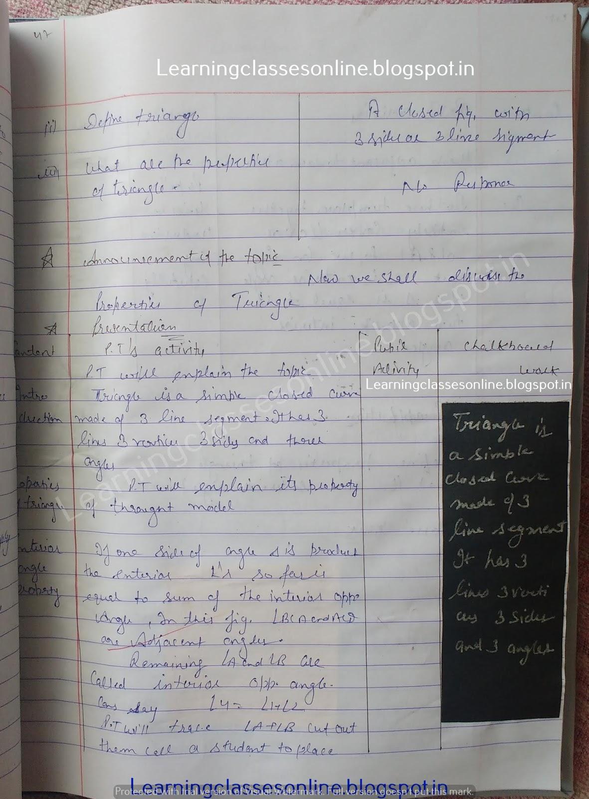 Lesson Plan In Math Grade 6,
