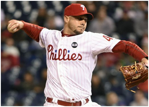 Dustin McGowan failed to get out of the fourth for the Phillies.
