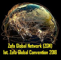 1st. Zofa Global Convention 2018