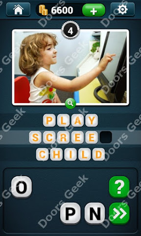 Cheats, Solutions, Walkthrough for PicWords Level 4 for android and iphone