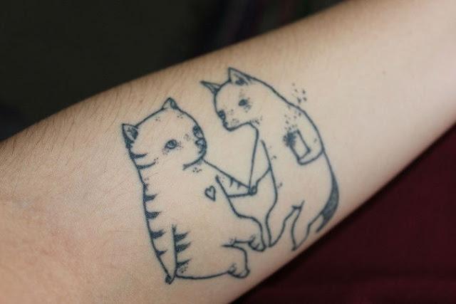 Tatuagens de gatos