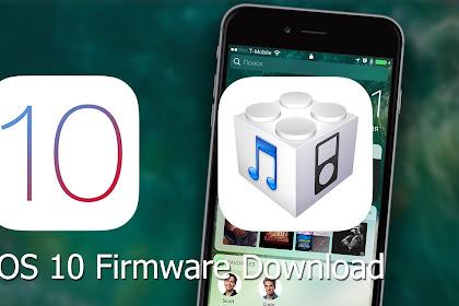 Download iOS 10 Firmware IPSW [iPad]