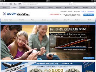 screen shot x com global
