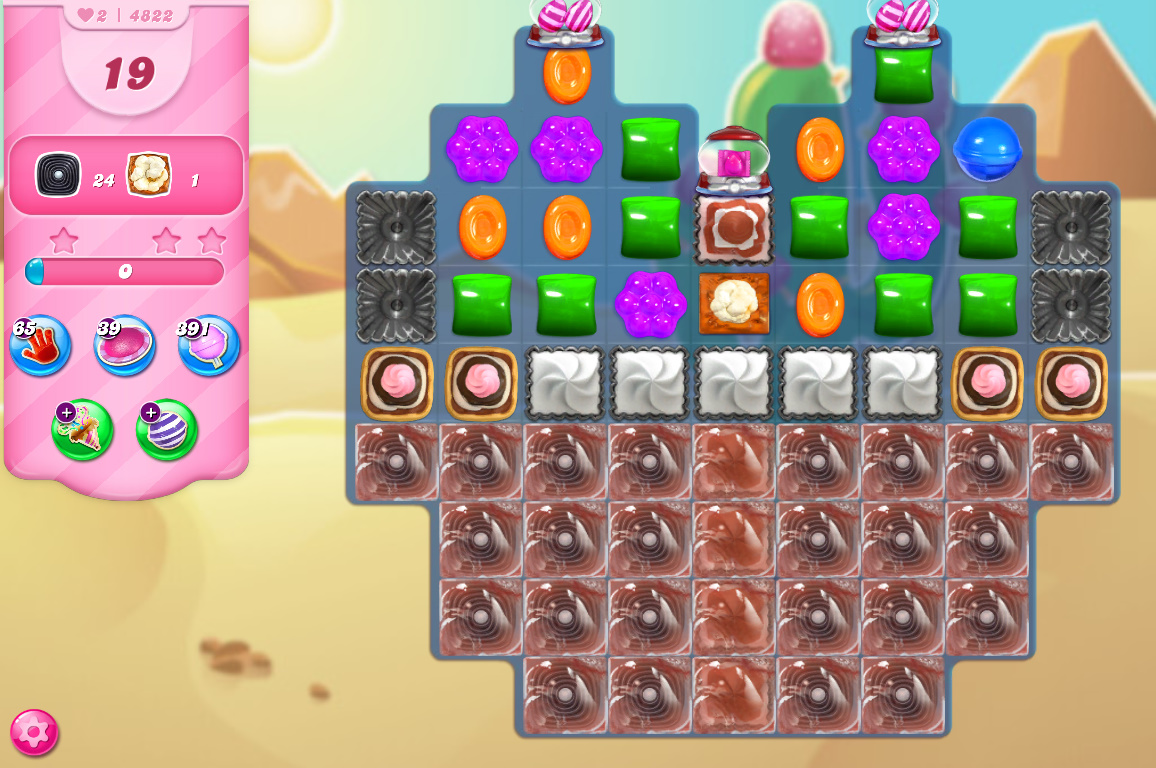 Candy Crush Saga level 4822