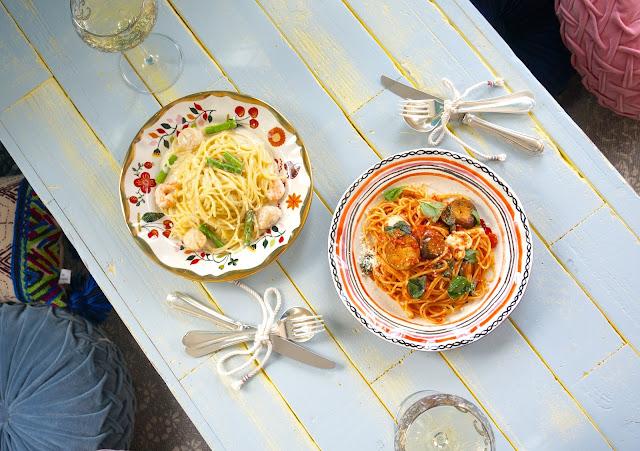 ランチ終了からディナータイムにかけて、パスタ等の一品もののお食事メニューもあります。