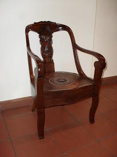 Lanarorestaura restauro la 39 comoda 39 sedia a gondola for La sedia nel design
