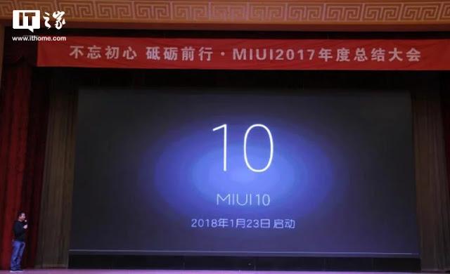 , Xiaomi Secara Resmi Mengumumkan MIUI 10, KingdomTaurusNews.com - Berita Teknologi & Gadget Terupdate