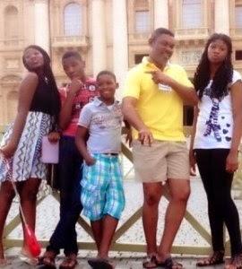 Photos: Omotola's Kids...