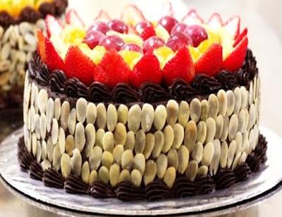 Foto Resep Mocca Nougat Cake Lembut Sederhana Spesial Asli Enak