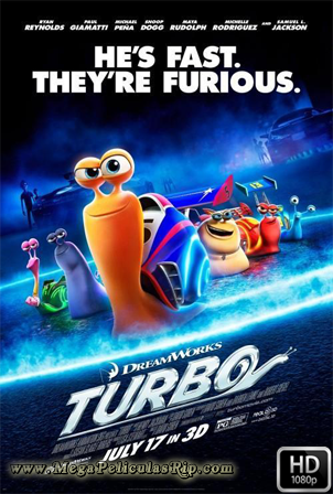 Turbo [1080p] [Latino-Ingles] [MEGA]