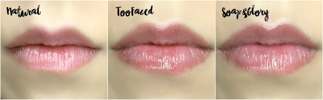 REVIEW: Too Faced Lip Injection Extreme VS Soap & Glory Sexy Mother Pucker Lip Plumping Glosses