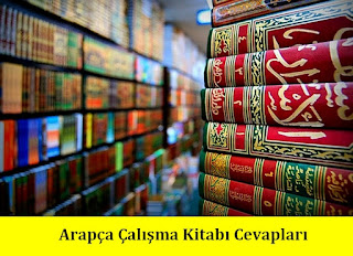6. Sınıf Arapça Meb Yayınları Çalışma Kitabı Cevapları