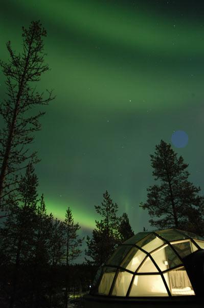 HOTEL KAKSLAUTEN: Dormir en un iglú en Finlandia 1