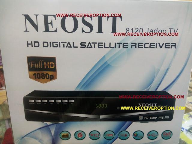 NEOSIT 8120 JADOO TV HD RECEIVER POWERVU KEY SOFTWARE