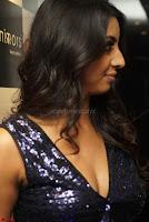 Sanjana looks happy in sparkling short Deep neck Purple Gown ~  Exclusive 29.JPG