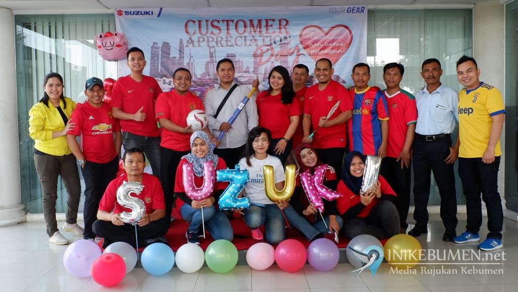 Apresiasi Pelanggan, Suzuki Gelar Customer Appreciation Day