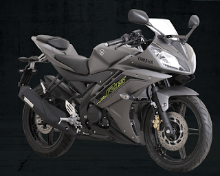 Yamaha YZF-R15 Speed Grey 2016