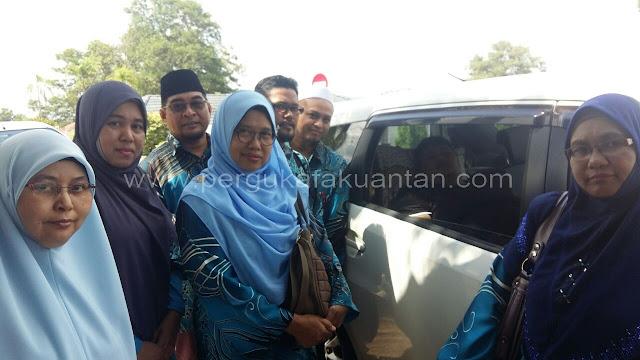Lawatan AJK Persatuan Menziarahi Ustaz Nur Zailani di Hospital Muadzam Shah