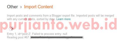 Cara pindah artikel wordpress ke blogspot bagian kelima