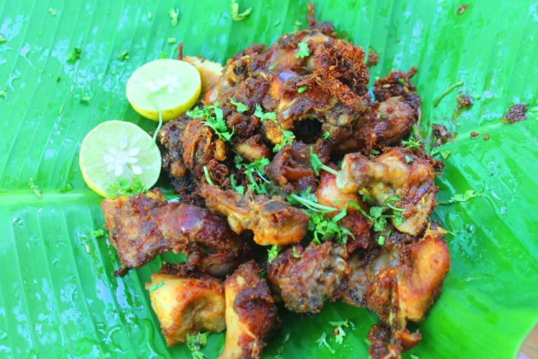 Street Food Style Chicken Fry Recipe Thattukadai Chicken Fry