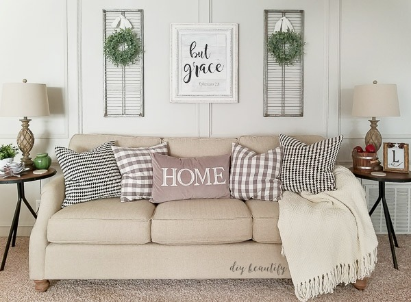 living room decor | diy beautify