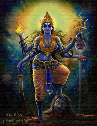 Hindu Goddess rudra wallpaper