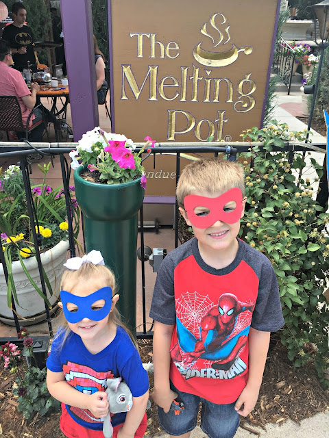The Melting Pot Events, The Melting Pot Events for Kids, The Melting Pot Superhero Sundays, The Melting Pot Fondue Fairytale, The Melting Pot Littleton Colorado