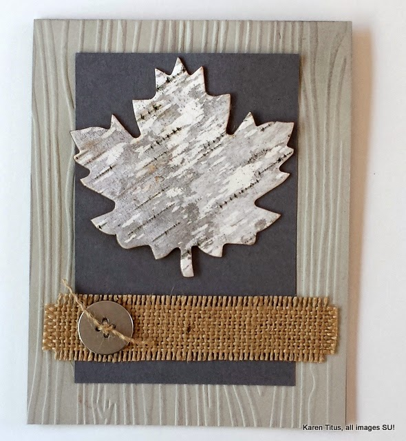 Featured Karen Titus shared how to make Leaves Out of Birch Bark One More Time Events.com