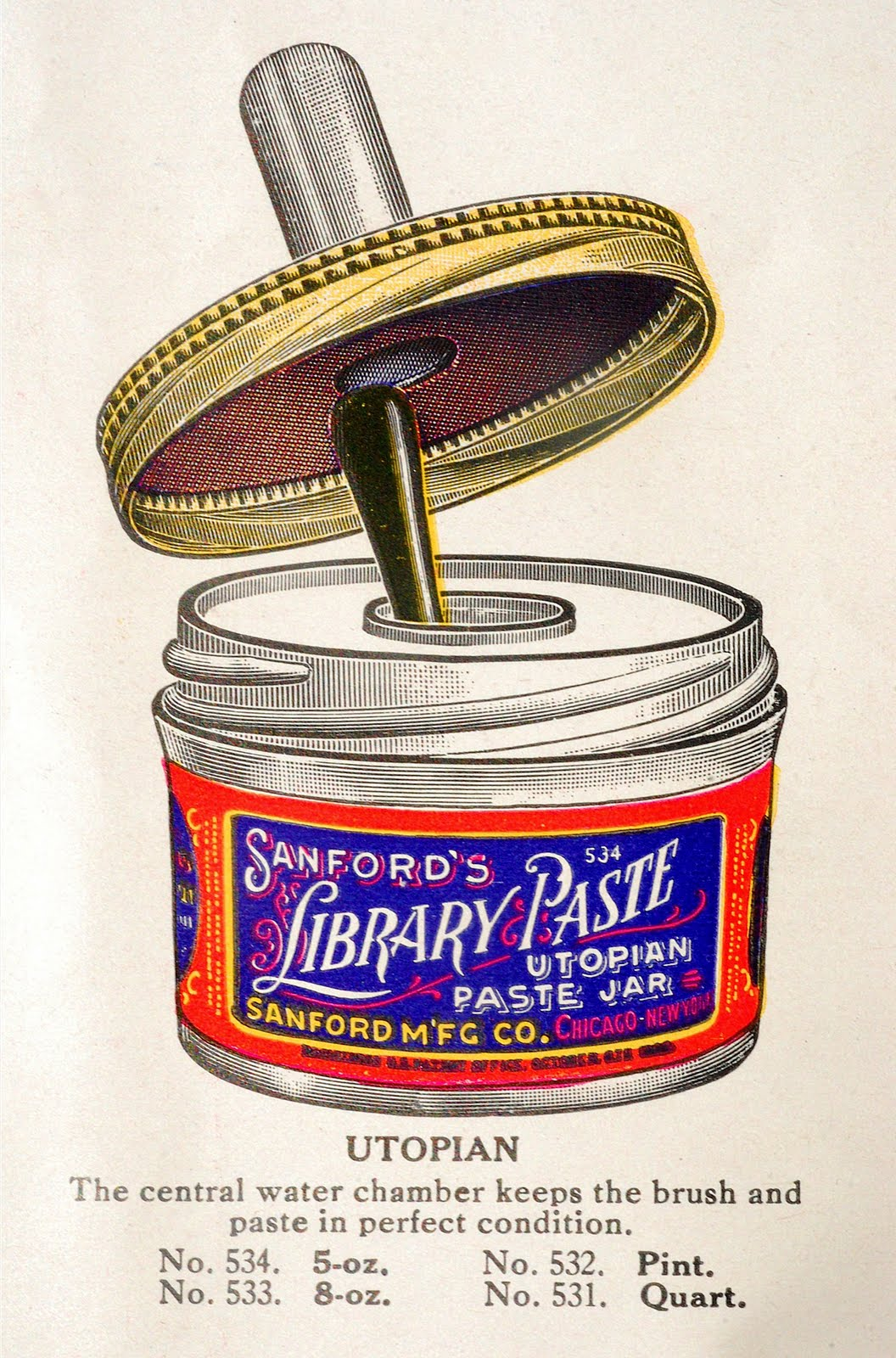Letterology: Please Don't Eat the Library Paste