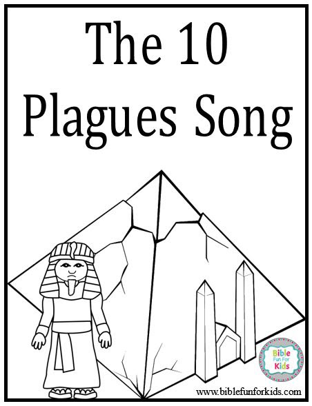 Bible Fun For Kids Moses 10 Plagues Part 1 Of 3