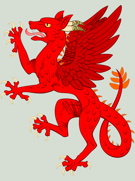 Dragon Heraldry: DRAGONS IN HERALDRY