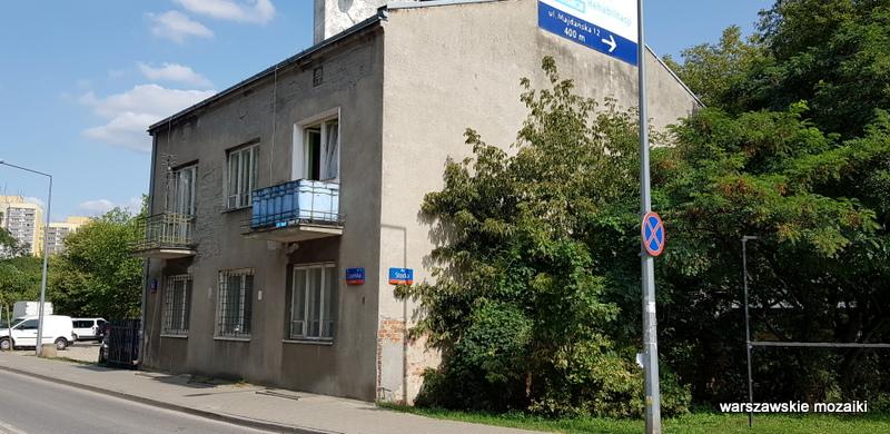 Warszawa Warsaw ulice praskie Grochów ulica Grochowa grochowskie klimaty architektura