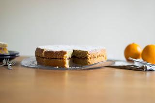 Blood Orange Polenta Cake [Vegan!], www.imogenmolly.co.uk