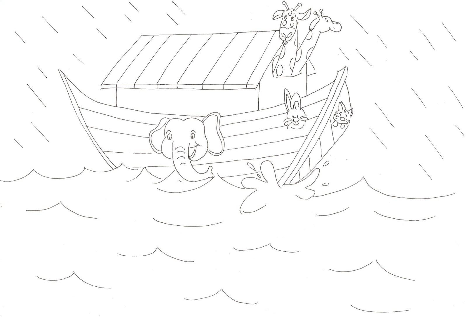 """Catatan SiGal Cerita Bergambar Sekolah Minggu """"Nabi Nuh Dan"""