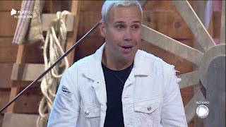 Viny Vieira saiu vencedor da Roça desta semana! Com 71,65%, Veja a reação do Peão
