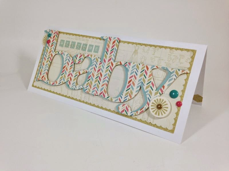 Anna Griffin Bridal and Baby Soiree card sideview