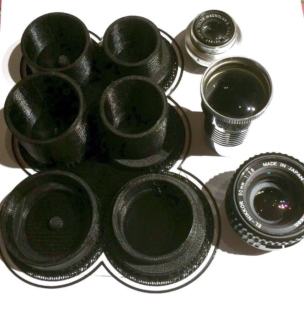 Einsatz eines 3D Druckers für die Adaption von Objektiven an digitale Kameras (1)