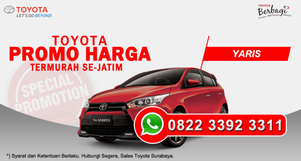 Promo Harga Toyota Yaris Surabaya