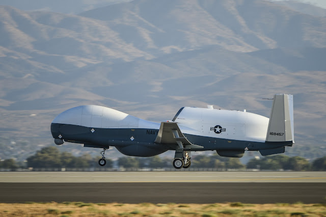 Northrop Grumman MQ-4C Unmanned Aircraft System (UAS)