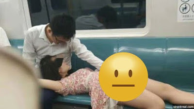 Viral !! Pasangan Ini Sangat Gila, Mesum Di Dalam Kereta Api Karena Sudah Tidak Tahan !